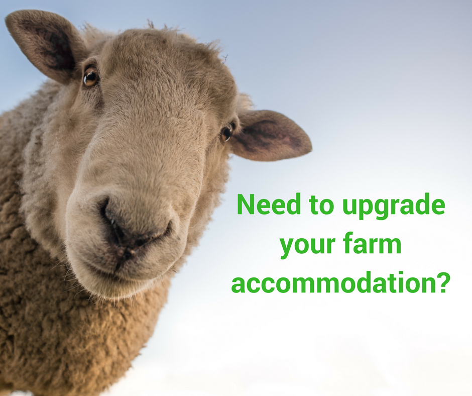 Need to upgrade your farm accommodation? Read this.
